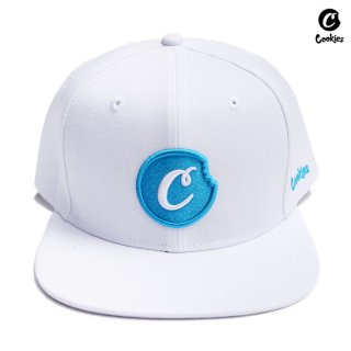 COOKIES SF SNAPBACK CAP【WHITE×BLUE】