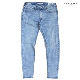 PACSUN DENIM PANTS【INDIGO LIGHT BLUE】