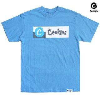 【メール便対応】COOKIES SF MONTECITO Tシャツ【CAROLINA BLUE】