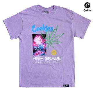 【メール便対応】COOKIES SF HIGH GRADE Tシャツ【LAVENDER】