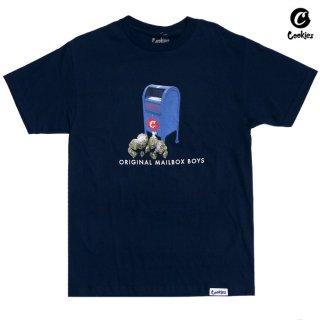 【メール便対応】COOKIES SF POSTAL Tシャツ【NAVY】