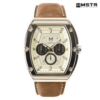【送料無料】MSTR WATCHESMAJOR【POLISHED GOLD/C-3PO/LEATHER BAND】【MJ114SW】