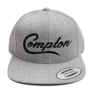 COMPTON SNAPBACK CAP【H.GRAY】【CITY CAP】