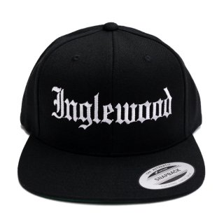 INGLEWOOD SNAPBACK CAP【BLACK】【CITY CAP】
