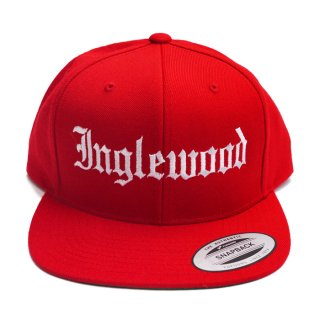 INGLEWOOD SNAPBACK CAP【RED】【CITY CAP】