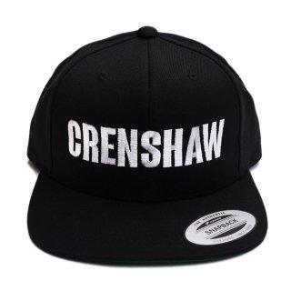 CRENSHAW SNAPBACK CAP【BLACK】【CITY CAP】