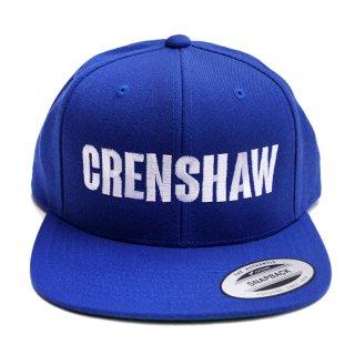 CRENSHAW SNAPBACK CAP【ROYAL BLUE】【CITY CAP】