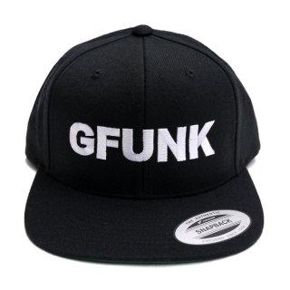 GFUNK SNAPBACK CAP【BLACK】
