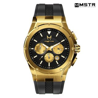 MSTR WATCHES MK3【GOLD / BLACK / RUBBER BAND】【AM254RB】