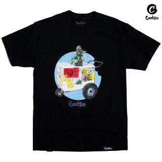 【メール便対応】COOKIES SF THE CART Tシャツ【BLACK】