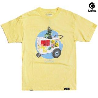 【メール便対応】COOKIES SF THE CART Tシャツ【YELLOW】