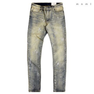 MNML X143 STRETCH DENIM PANTS【WASH BLUE】