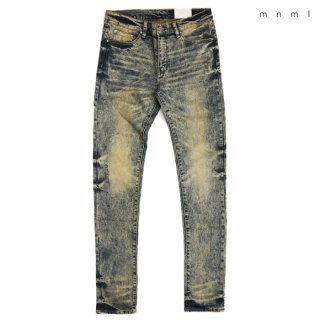 MNML X146 STRETCH DENIM PANTS【WASH BLUE】