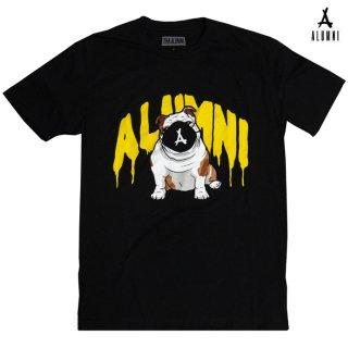 【メール便対応】ALUMNI OLLIE DRIP Tシャツ【BLACK】