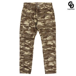 CRYSP DENIM JACKSON CARGO PANTS【CAMOUFLAGE】