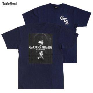 【メール便対応】CALIFAS Tシャツ【NAVY】