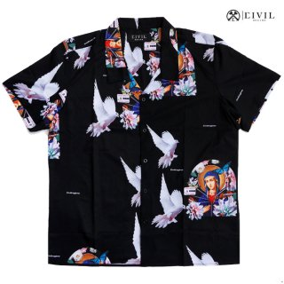 CIVIL REGIME FAITH CAMP SHIRTS【BLACK】