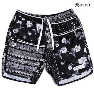 CIVIL REGIME CHRISTO SHORTS【BLACK】