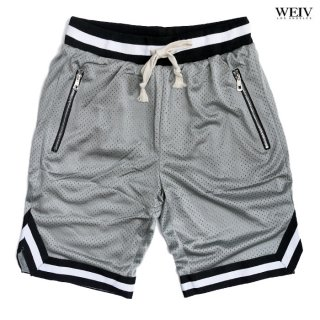 WEIV EDWIN DOUBLE MESH SHORTS【GRAY】