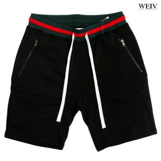 WEIV BRANDON FRENCH TERRY SHORTS【BLACK】
