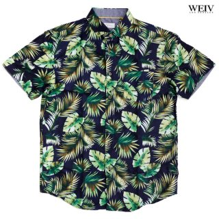 WEIV THE VALLEY SHIRTS【NAVY×GREEN】