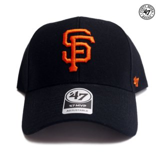 <img class='new_mark_img1' src='https://img.shop-pro.jp/img/new/icons59.gif' style='border:none;display:inline;margin:0px;padding:0px;width:auto;' />47 BRAND MVP CAP SAN FRANCISCO GIANTS【BLACK】