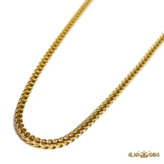 【メール便対応】THE GOLD GODS FRANCO CHAIN【GOLD】