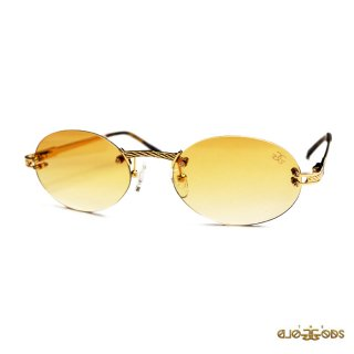 THE GOLD GODS THE HELIOS SUNGLASSES【GOLD×YELLOW】
