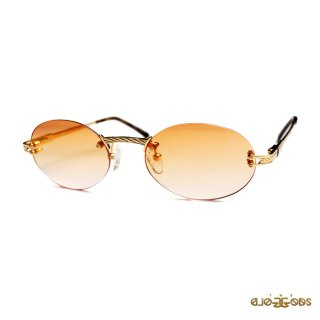 THE GOLD GODS THE HELIOS SUNGLASSES【GOLD×ORANGE】