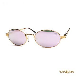THE GOLD GODS THE ARES SUNGLASSES【GOLD×LAVENDER】