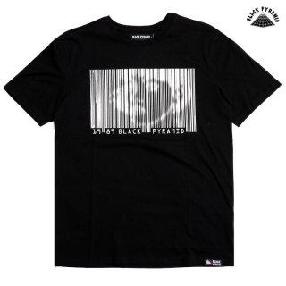 【メール便対応】BLACK PYRAMID BARCODE GIRL Tシャツ【BLACK】