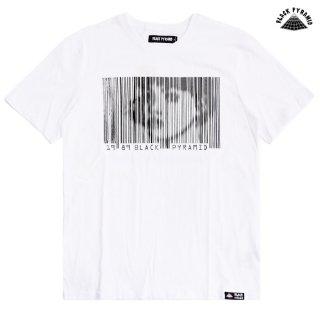 【メール便対応】BLACK PYRAMID BARCODE GIRL Tシャツ【WHITE】