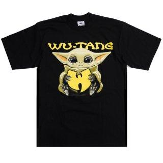 【メール便対応】WU-TANG CLAN PRINT T-SHIRTS【BLACK】