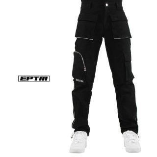EPTM 3M PIPING CARGO PANTS【BLACK】