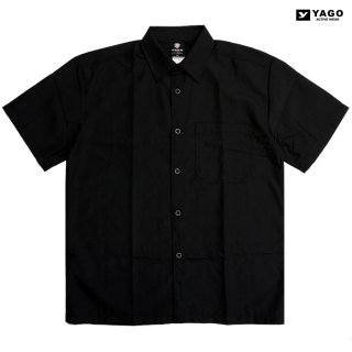 YAGO OPEN SHIRTS【BLACK】
