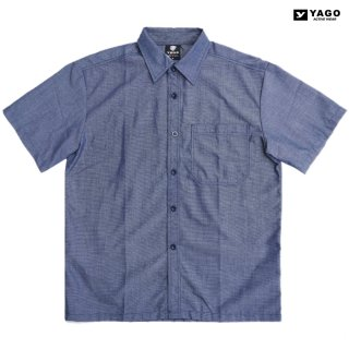 YAGO OPEN SHIRTS【BLUE】