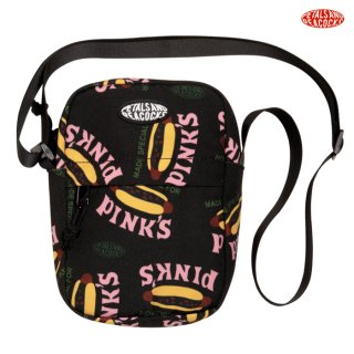 【メール便対応】PETALS AND PEACOCKS×PINK'S MADE SPECIAL SHOULDER BAG【BLACK】