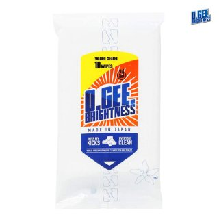 【メール便対応】O.GEE. BRIGHTNESS SNEAKER CLEANER WIPE