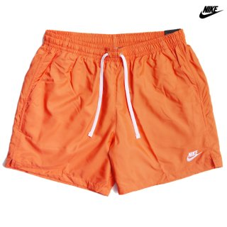 NIKE SPORTSWEAR WOVEN FLOW SHORTS【ORANGE】