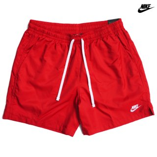 NIKE SPORTSWEAR WOVEN FLOW SHORTS【RED】