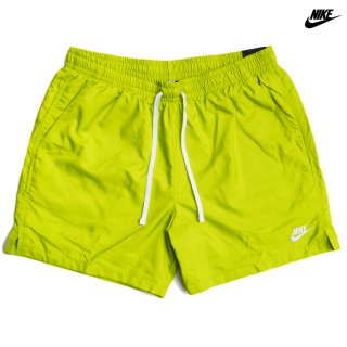 NIKE SPORTSWEAR WOVEN FLOW SHORTS【SAFETY GREEN】