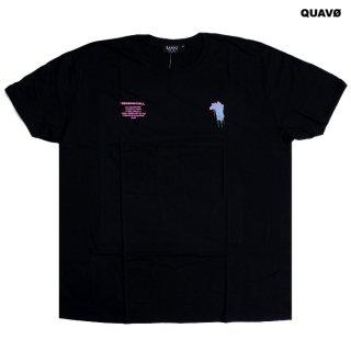【メール便対応】QUAVO OVERSIZED DRIP FACE Tシャツ【BLACK】