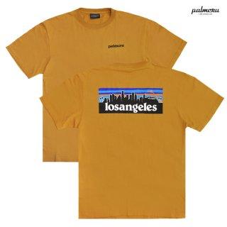 【メール便対応】PALM CRU LOS ANGELES Tシャツ【CAMEL】