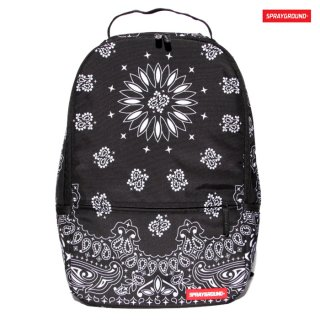 SPRAYGROUND BANDANA BACKPACK【BLACK】