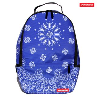 SPRAYGROUND BANDANA BACKPACK【BLUE】