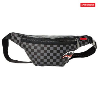 SPRAYGROUND SHARKS IN PARIS CROSSBODY BAG【BLACK】