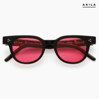 【送料無料】AKILA LEGACY SUNGLASSES【BLACK】【ROSE LENS】