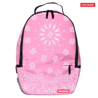 【期間限定★50%OFF】SPRAYGROUND BANDANA BACKPACK【PINK】