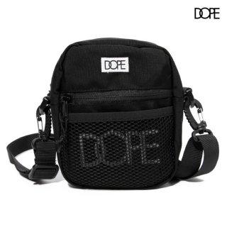 DOPE CLASSIC LOGO SLING BAG【BLACK】