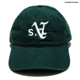 【メール便対応】STADIUM CAPSULE STRAP BACK CAP【DARK GREEN】